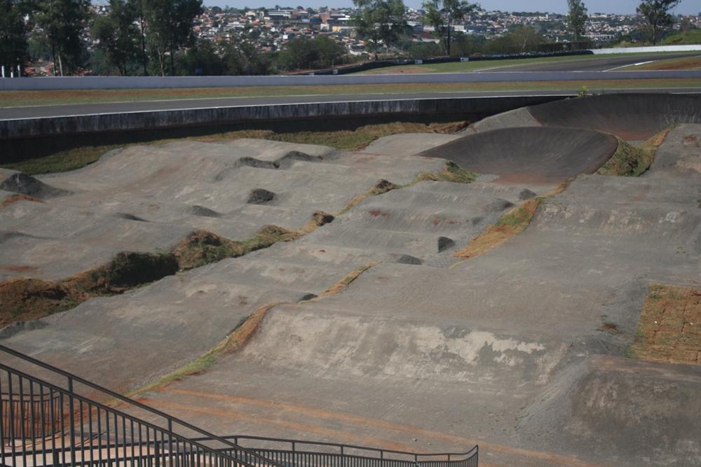 Nova pista de BMX no Complexo Esportivo Ayrton Senna