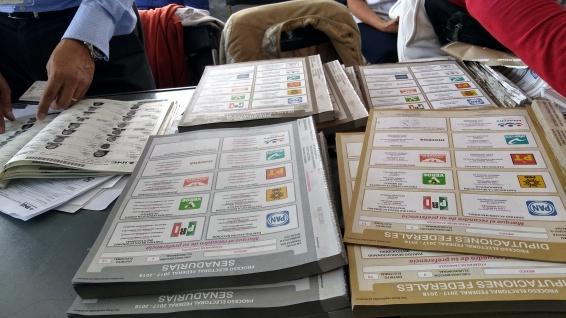 cédula de voto