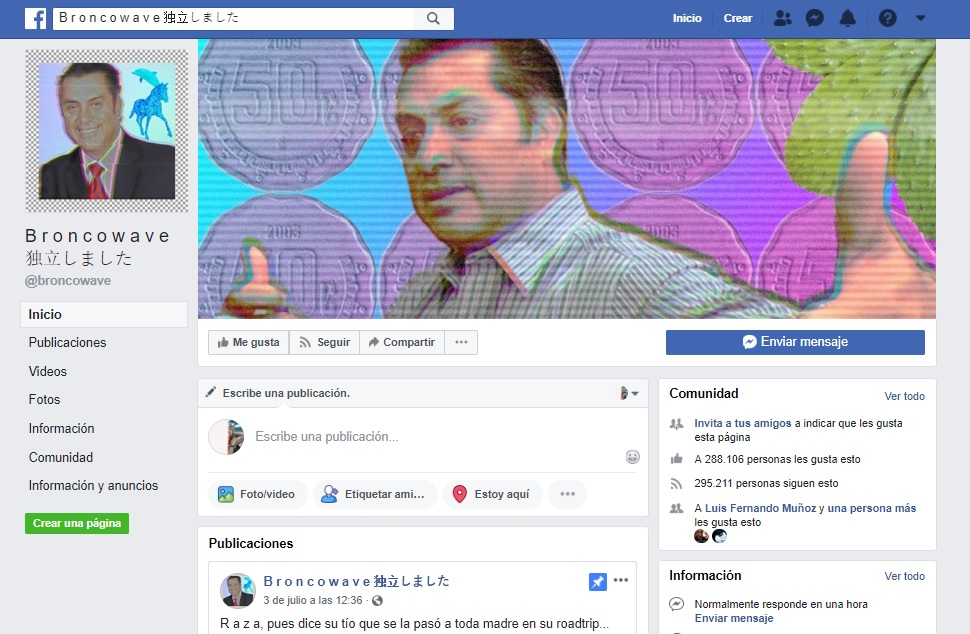 página oficial bronco para jovens