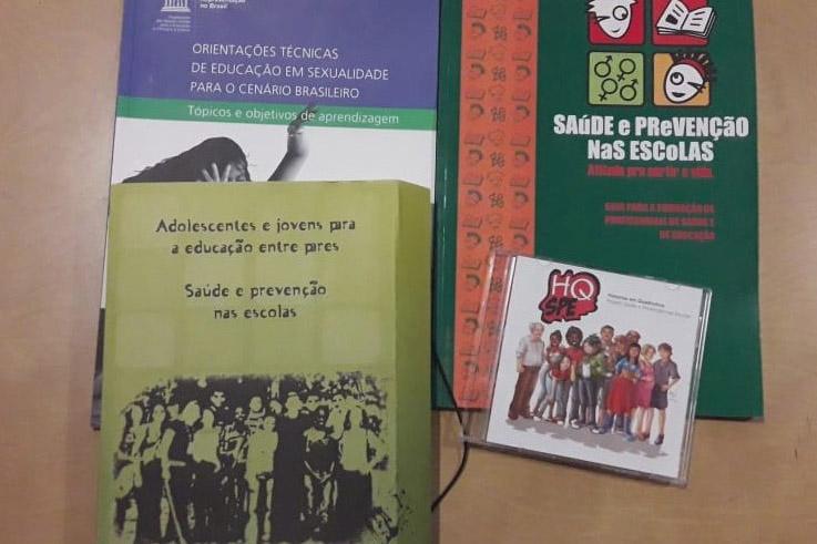 Foto 01 - Material disponibizado pela Unesco para o debate acerca de educação sexual na escola