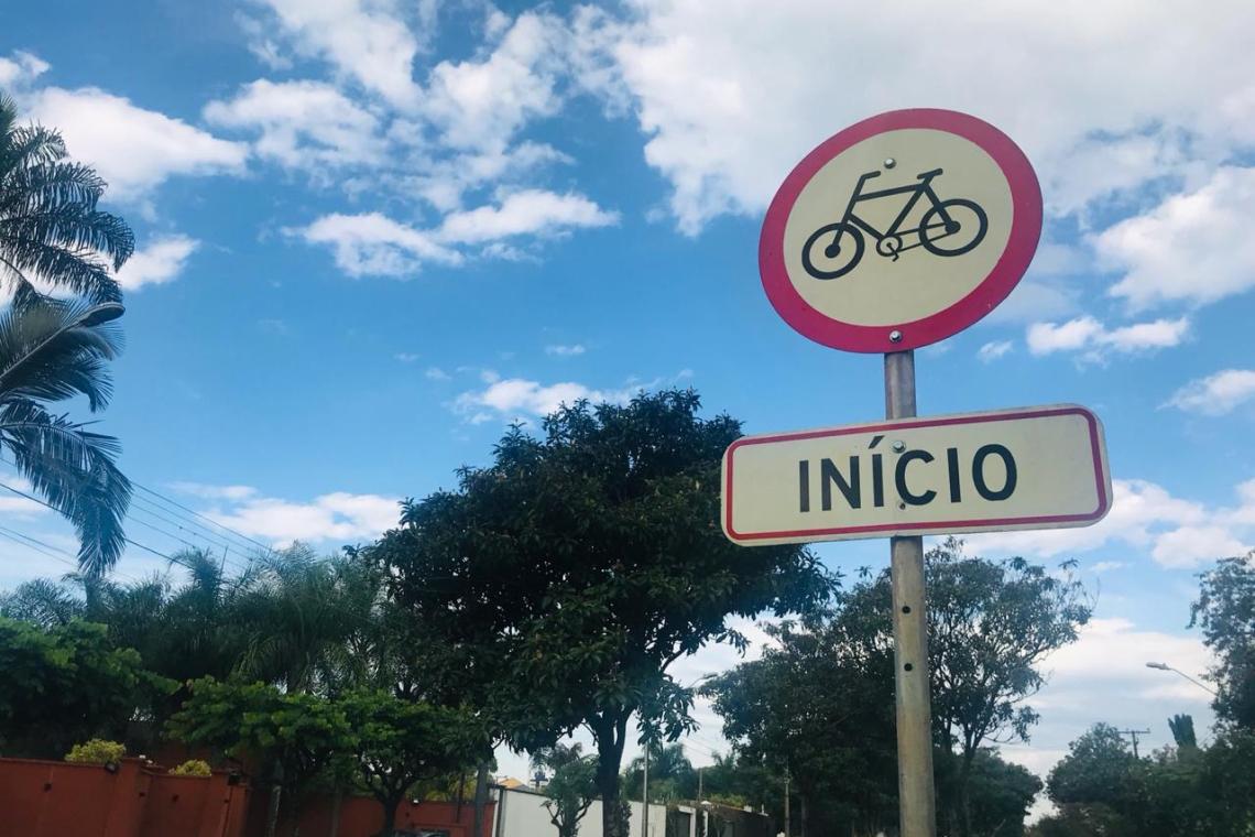 01 - Início da ciclovia da avenida Adhemar Pereira de Barros